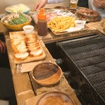 イチバンチョウバル - 準備された食材