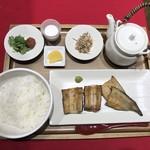 干物まる - うなぎ干物定食