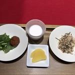 干物まる - 副菜