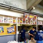 秩父宮ラグビー場 売店 -