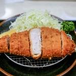 とんかつ川久 - ■黒豚ロース 150g 1900円