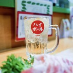 小料理 石蕗 - ☆ハイボール 400円