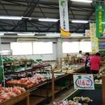 JAふくしま未来農産物直売所 ここら - 柿や野菜もたくさん