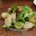 ワインキッチン コメット - 野菜とホタテ