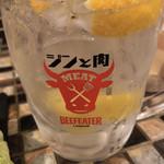 塊肉酒場 LOVE&29 - 「ジントニ!!」のロゴ♪