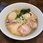 貝節麺raik - 料理写真:貝節麺raik(特製貝節潮そば 980円)
