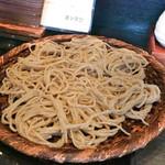 手打ち蕎麦と酒 佳蕎庵 - 料理写真:滋賀の田舎蕎麦