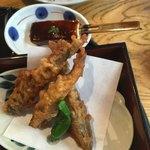 96626051 - 絶品のメヒカリ唐揚げ❗️今迄、食べてきたのは冷凍だったんだ❗️(^^;