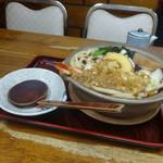 長寿庵 - 鍋焼きうどん