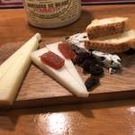 ボケリーア - スペインチーズ盛り合わせ