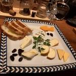 エクリプス ファースト - チーズ盛り合わせ