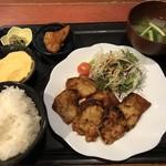 むちゃく - 豚の生姜焼定食=800円