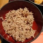 麹蔵 - 玄米ご飯