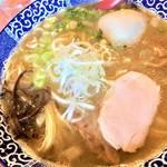 96632415 - 181113火 北海道 麺や亀陣 鳥白湯しお750円+味玉100円