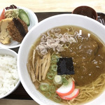シキシマ - 料理写真:中華カレーそば定食
