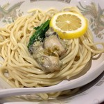 らーめん カッパハウス - 牡蠣つけ麺の麺