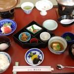 銀波荘 - 朝食