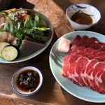96640951 - 肉と野菜