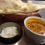 インド・ネパール料理 ダルバート - ・ランチAセット チキン団子のカレー