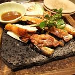 鳥どり - 「川俣シャモねぎま焼き(¥1,280)」