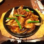 鳥どり - 「鶏ハラミ焼き(¥580)」