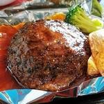 万葉 太郎坊亭 - 近江牛ハンバーグ
