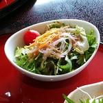 万葉 太郎坊亭 - サラダ