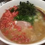 麺処 真心屋 - えび塩ラーメン800円