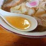めし・定食 西葉食堂 - 2018年11月 スープ