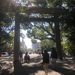 96646411 - 熱田神宮の正門
