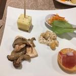 ルモンド・ガーデン - 冷菜5種