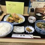 豊福 - カキフライ定食950円です(2018.11.17)