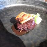 高須賀 - 牛煮込み フォアグラソテー