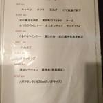 スープカレーの田中さん - メニュー5(トッピング)