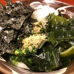 小麦の翼 - 料理写真:ぶっかけうどん650円