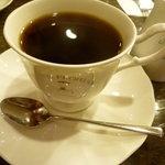 CAFE FLORIAN - ☆ホットコーヒーはお店のロゴ入りカップで(≧▽≦)/~♡☆