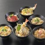 麺酒房 文楽 - 選べる丼<6種類の丼とおそばを選んで頂けます>