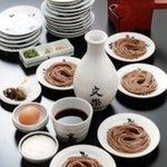 麺酒房 文楽 - 皿そば食べ放題 1,580円