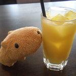 Mirairesutoranandokafe - オレンジジュース