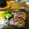 ビッグボーイ - 料理写真:新・大俵ハンバーグランチM(200g)フルセット1,500円+税