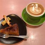 anthrop.Espresso&Comfort - タルトタタン&カフェラテ