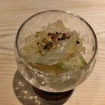96652213 - クラゲと搾菜の和え物