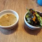 BISTRO BARCO - スープとサラダ