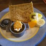 アンドウッドカフェ - シフォンケーキ