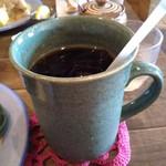 アンドウッドカフェ - アイスコーヒー