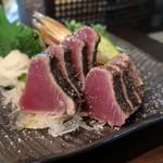 みや澤 - 料理写真:鰹わら焼タタキ(塩)