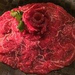 カナユニ - 牛フィレ肉のお刺身