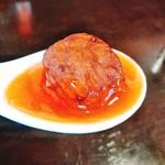 竹園 - 甘酢に絡んだ肉団子