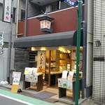 御菓子司 青柳 - 野方駅北口側の商店街です