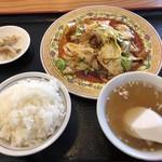 中華料理 王道楼 - 回鍋肉定食